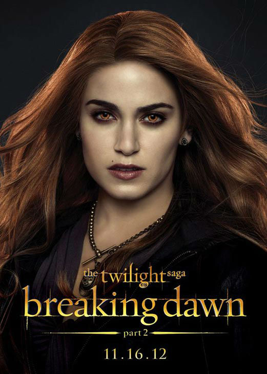 Nikki Reed, who portrays Rosalie Cullen in 'The Twilight Saga: Breaking Dawn - Part 2,' appears in a cast poster for the film, which is slated for release on November 16, 2012.