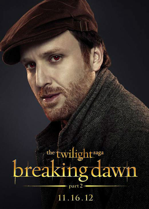 Patrick Brennan who portrays Liam of the Irish coven in 'The Twilight Saga: Breaking Dawn - Part 2,' appears in a cast poster for the film, which is slated for release on November 16, 2012.