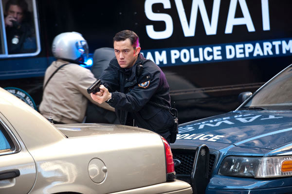 Joseph Gordon Levitt appears as John Blake in &#39;The Dark Knight Rises,&#39; set to hit theaters on July 20, 2012. <span class=meta>(Warner Bros. Pictures&#47;Ron Phillips)</span>