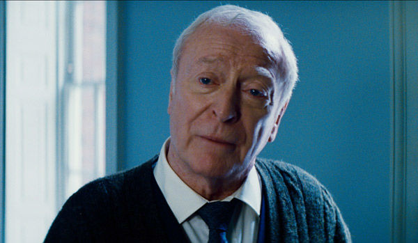 Michael Caine appears as Alfred in 'The Dark...