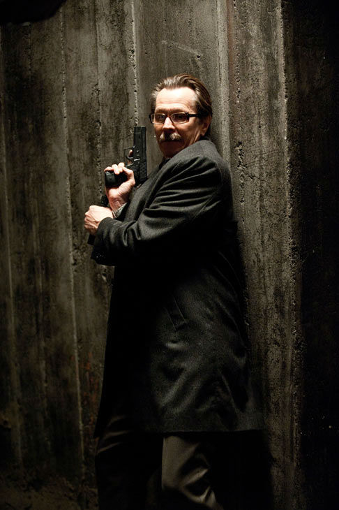 Gary Oldman appears in a still from 'The Dark...
