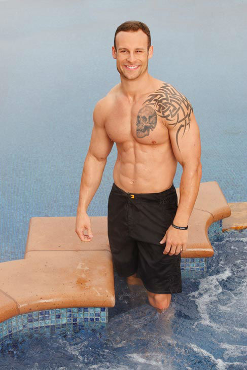 'Bachelor Pad' contestant Chris Bain, who is a SWAT Team Officer and 'super fan' of 'The Bachelor' franchise, competes for $250,000 in season 3 of ABC's reality show spin-off. 'Bachelor Pad' premieres on July 23, 2012 at 8 p.m. ET on ABC.