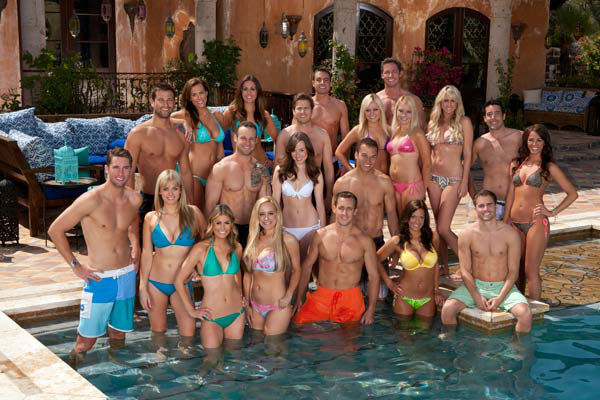 "<div class=""meta ""><span class=""caption-text "">Hosted by Chris Harrison, 'Bachelor Pad' returns with its most controversial cast to date, as 15 unforgettable characters from the ""Bachelor"" franchise and six 'super fans' gather back at the mansion to live together and compete for $250,000 and possibly a chance at love.   Back row: Tony Pieper, Nick Peterson Second row: Chris Bukowski, Blakeley Jones, Sarah Newlon, Reid Rosenthal, Brittany Taltos, Erica Taltos, Jaclyn Swartz, Ed Swiderski, Jamie Otis Third row: Kalon McMahon, Rachel Truehart, Chris Bain, Paige Vigil, Ryan Hoag Bottom row: Lindzi Cox, Erica Rose, David Mallet, Donna Zitelli, Michael Stagliano (ABC Photo/ Craig Sjodin)</span></div>"