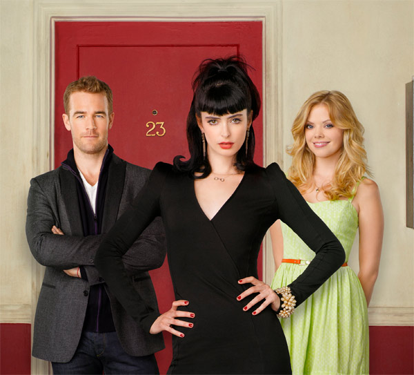 "<div class=""meta ""><span class=""caption-text "">'Don't Trust the B---- in Apt 23,' which stars Krysten Ritter, Dreama Walker and James Van Der Beek, returns for a second season on October 23, 2012 and will air on Tuesdays from 9:30 to 10 p.m. ET. (ABC / Bob D'Amico)</span></div>"