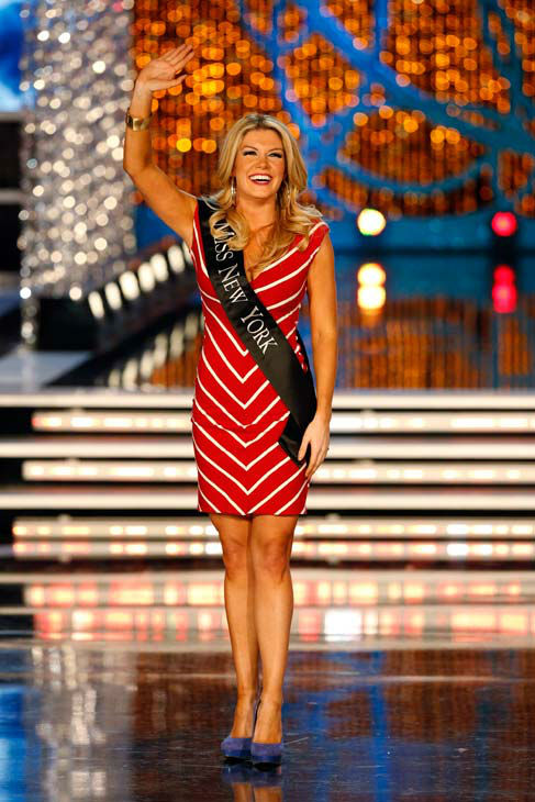 "<div class=""meta ""><span class=""caption-text "">Miss New York, Mallory Hagan, appears during 'The 2013 Miss America Pageant' telecast live from the Planet Hollywood Resort and Casino in Las Vegas on Saturday, January 12, 2013. (ABC Photo/ Craig Sjodin)</span></div>"