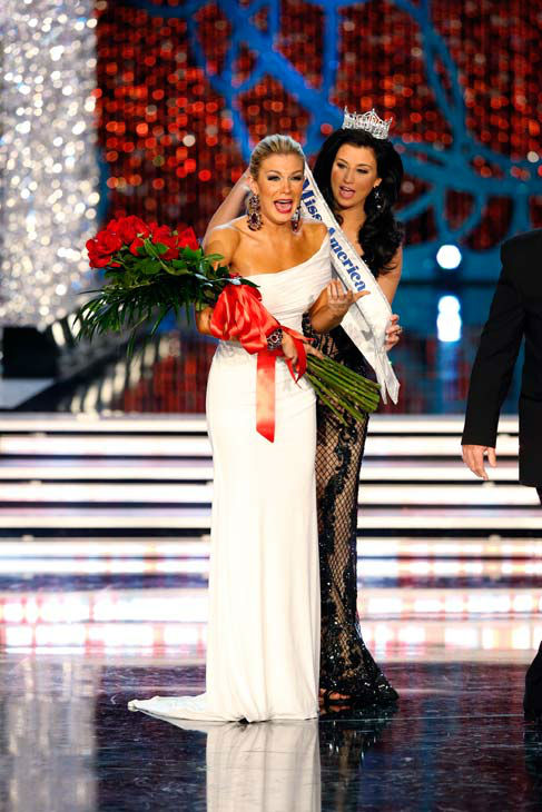 Miss New York, Mallory Hagan, appears during &#39;The 2013 Miss America Pageant&#39; telecast live from the Planet Hollywood Resort and Casino in Las Vegas on Saturday, January 12, 2013. <span class=meta>(ABC Photo&#47; Craig Sjodin)</span>