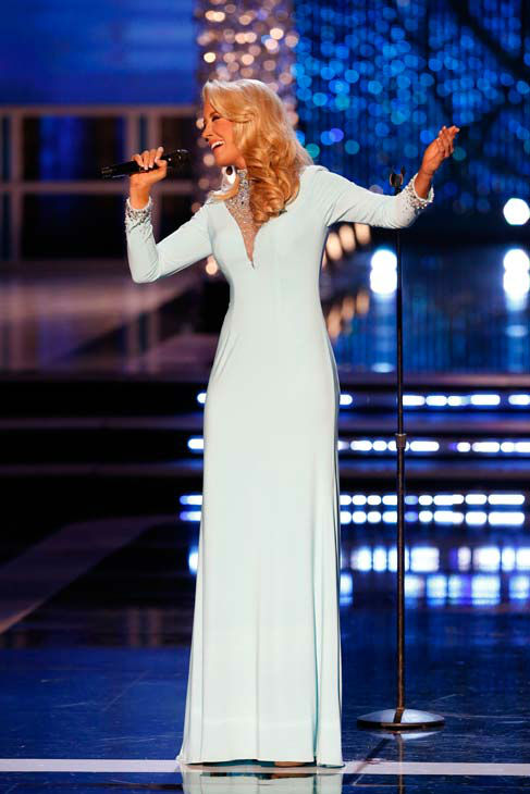 Miss Tennessee, Chandler Lawson, appears during &#39;The 2013 Miss America Pageant&#39; telecast live from the Planet Hollywood Resort and Casino in Las Vegas on Saturday, January 12, 2013. <span class=meta>(ABC Photo&#47; Craig Sjodin)</span>