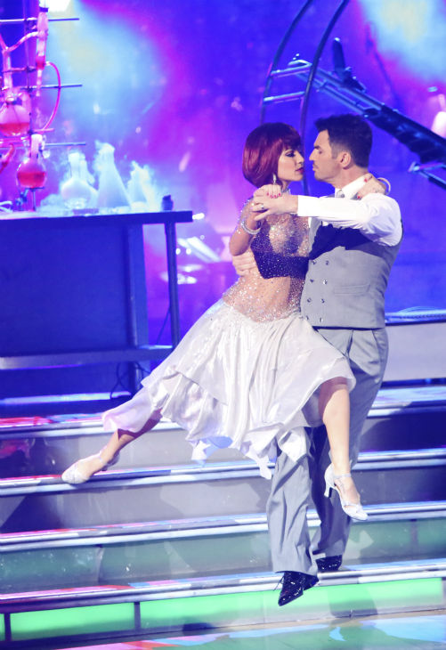 Reality star Melissa Rycroft and her partner Tony Dovolani received 29.5 out of 30 points from the judges for their Viennese Waltz on &#39;Dancing With The Stars: All-Stars,&#39; which aired on October 29, 2012. <span class=meta>(ABC Photo &#47; Adam Taylor)</span>