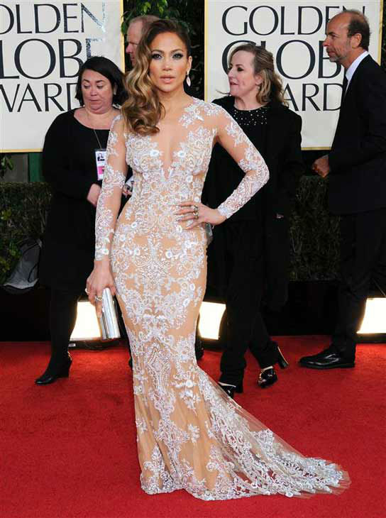 "<div class=""meta ""><span class=""caption-text "">Jennifer Lopez appears at the 70th annual Golden Globe Awards in Los Angeles, California on Jan. 13, 2013.  (Sara De Boer / startraksphoto.com)</span></div>"