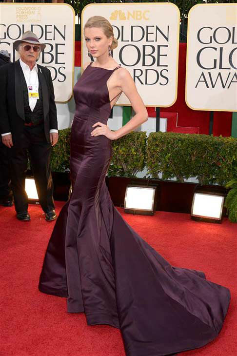 "<div class=""meta ""><span class=""caption-text "">Taylor Swift appears at the 70th annual Golden Globe Awards in Los Angeles, California on Jan. 13, 2013.  (Giulio Marcocchi / startraksphoto.com)</span></div>"
