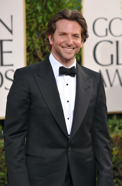 Actor Bradley Cooper arrives at the 70th Annual Golden Globe Awards at the Beverly Hilton Hotel on Sunday Jan. 13, 2013, in Beverly Hills, Calif.  <span class=meta>(Photo&#47;John Shearer)</span>