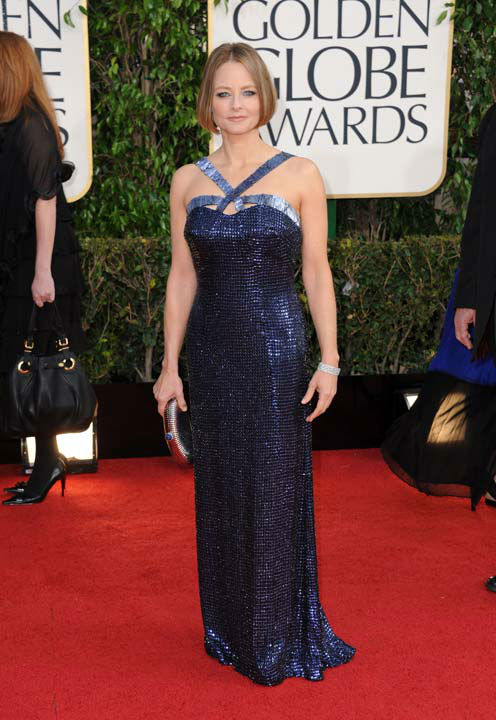 Actress and filmmaker Jodie Foster arrives at the 70th Annual Golden Globe Awards at the Beverly Hilton Hotel on Sunday Jan. 13, 2013, in Beverly Hills, Calif. <span class=meta>(Photo&#47;Jordan Strauss)</span>