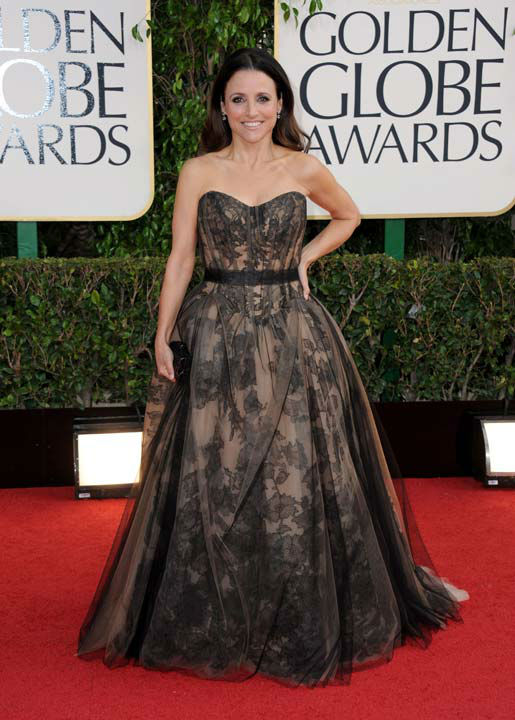 "<div class=""meta ""><span class=""caption-text "">Actress Julia Louis-Dreyfus arrives at the 70th Annual Golden Globe Awards at the Beverly Hilton Hotel on Sunday Jan. 13, 2013, in Beverly Hills, Calif.  (Photo/Jordan Strauss)</span></div>"