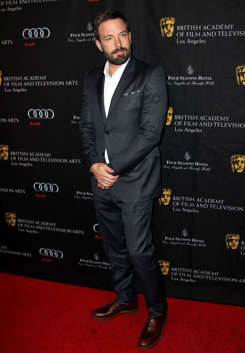 Ben Affleck arrives at the BAFTA Awards Season...