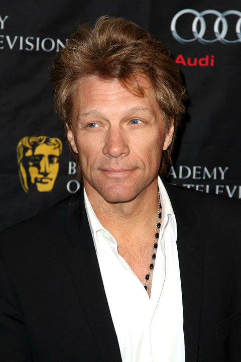 Jon Bon Jovi arrives at the BAFTA Awards Season...