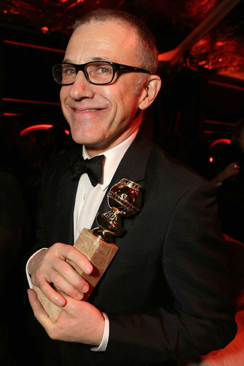"<div class=""meta ""><span class=""caption-text "">Actor Christoph Waltz attends The Weinstein Company's 2013 Golden Globe Awards after party presented by Chopard, HP, Laura Mercier, Lexus, Marie Claire, and Yucaipa Films held at The Old Trader Vic's at The Beverly Hilton Hotel on January 13, 2013 in Beverly Hills, California. (Ari Perilstein / Mike Swindle / Wireimage)</span></div>"