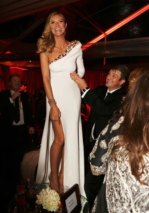 Heidi Klum attends The Weinstein Company's 2013...
