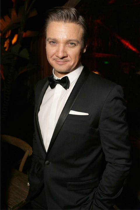 "<div class=""meta ""><span class=""caption-text "">Actor Jeremy Renner attends The Weinstein Company's 2013 Golden Globe Awards after party presented by Chopard, HP, Laura Mercier, Lexus, Marie Claire, and Yucaipa Films held at The Old Trader Vic's at The Beverly Hilton Hotel on January 13, 2013 in Beverly Hills, California.  (Photo/Jeff Vespa / Mike Swindle / Wireimage)</span></div>"