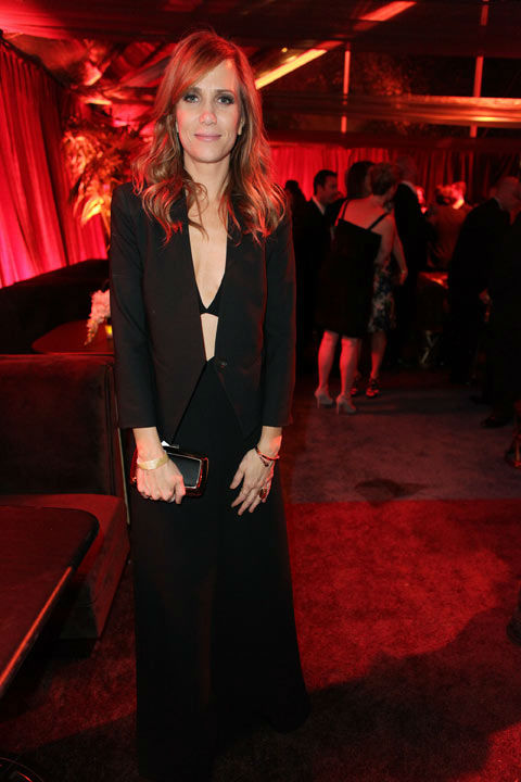 ctress Kristen Wiig attends The Weinstein Company&#39;s 2013 Golden Globe Awards after party presented by Chopard, HP, Laura Mercier, Lexus, Marie Claire, and Yucaipa Films held at The Old Trader Vic&#39;s at The Beverly Hilton Hotel on January 13, 2013 in Beverly Hills, California.  <span class=meta>(Photo&#47;Mike Windle &#47; Mike Swindle &#47; Wireimage)</span>
