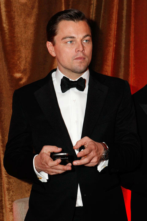 "<div class=""meta ""><span class=""caption-text "">Actor Leonardo DiCaprio attends The Weinstein Company's 2013 Golden Globe Awards after party presented by Chopard, HP, Laura Mercier, Lexus, Marie Claire, and Yucaipa Films held at The Old Trader Vic's at The Beverly Hilton Hotel on January 13, 2013 in Beverly Hills, California.  (Photo/Ari Perilstein / Mike Swindle / Wireimage)</span></div>"