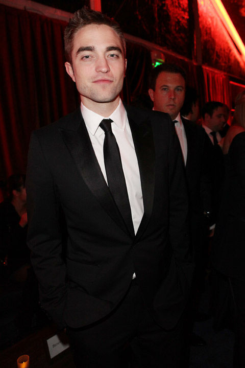 "<div class=""meta image-caption""><div class=""origin-logo origin-image ""><span></span></div><span class=""caption-text"">Actor Robert Pattinson attends The Weinstein Company's 2013 Golden Globe Awards after party presented by Chopard, HP, Laura Mercier, Lexus, Marie Claire, and Yucaipa Films held at The Old Trader Vic's at The Beverly Hilton Hotel on January 13, 2013 in Beverly Hills, California.  (Mike Swindle / Wireimage)</span></div>"