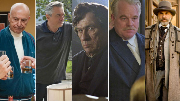 All of the actors nominated in the Best Performance by an Actor in a Supporting Role category have already won an Oscar.  Alan Arkin of 'Argo,' Robert De Niro of 'Silver Linings Playbook,' Philip Seymour Hoffman of 'The Master,' Tommy Lee Jones of 'Lincoln' and Christoph Waltz of 'Django Unchained' have already won an Oscar for previous roles.   Alan Arkin won for his supporting role in the 2006 film 'Little Miss Sunshine.'  Robert De Niro won an Oscar for his supporting role in the 1974 film 'The Godfather Part II' and for his leading role in the 1980 movie 'Raging Bull.' De Niro, who received his last nomination for the 1991 film 'Cape Fear,' has been nominated a total of seven times.   Philip Seymour Hoffman won the prize for his lead role in the 2005 movie 'Capote.' Tommy Lee Jones won an Oscar for his supporting role in the 1993 movie 'The Fugitive' and Christoph Waltz won the award for his supporting role as the villain in the 2009 film 'Inglourious Basterds.'  (Pictured: Alan Arkin appears in 'Argo,' Robert De Niro appears in 'Silver Linings Playbook,' Tommy Lee Jones appears in 'Lincoln,' Philip Seymour Hoffman appears in 'The Master' and Christoph Waltz appears in 'Django Unchained.')