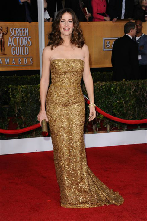 Jenny Garner appears at the 2013 Screen Actors Guild &#40;SAG&#41; Awards in Los Angeles on Jan. 27, 2013. <span class=meta>(Kyle Rover &#47; Startraksphoto.com)</span>
