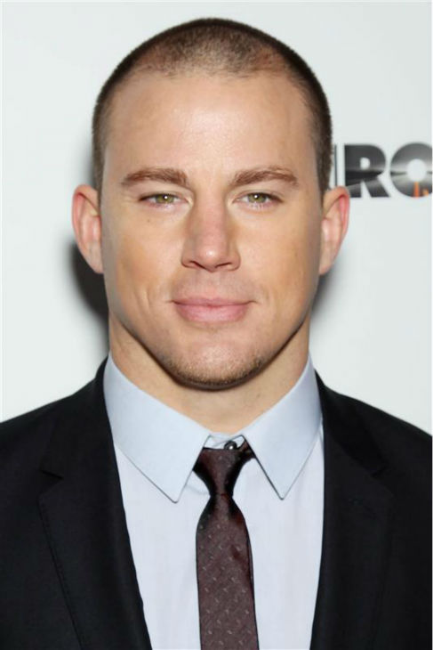 The &#39;No-Words-Necessary&#39; stare: Channing Tatum appears at the premiere of &#39;Side Effects&#39; in New York on Jan. 31, 2013. <span class=meta>(Marion Curtis &#47; Startraksphoto.com)</span>