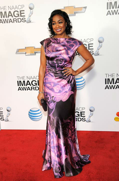 "<div class=""meta ""><span class=""caption-text "">Tatyana Ali arrives at the 44th Annual NAACP Image Awards at the Shrine Auditorium in Los Angeles on Friday, Feb. 1, 2013.  (Photo/Chris Pizzello)</span></div>"