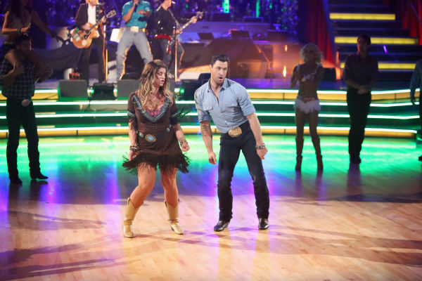 Kirstie Alley and her partner Maksim Chmerkovskiy dance on &#39;Dancing With The Stars: All-Stars,&#39; which aired on October 29, 2012. <span class=meta>(ABC Photo &#47; Adam Taylor)</span>