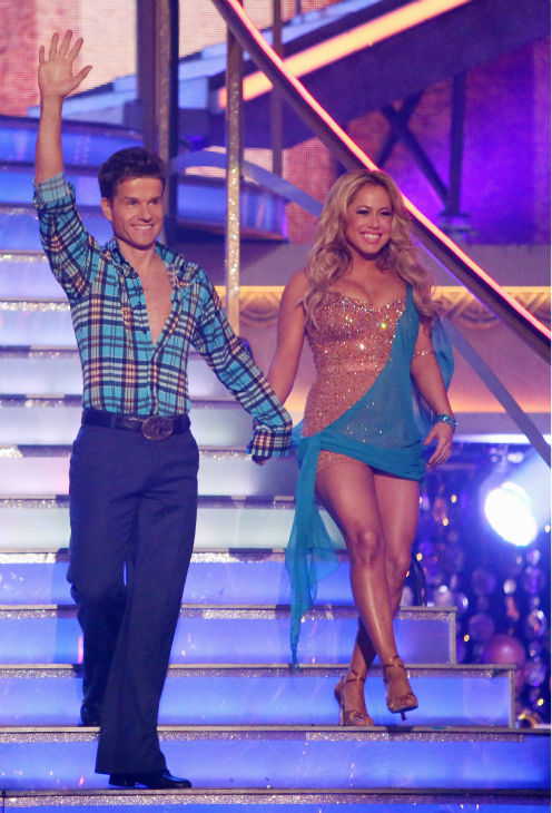 Disney Channel actress Sabrina Bryan and her partner Louis Van Amstel received 30 out of 30 points from the judges for their Rumba on &#39;Dancing With The Stars: All-Stars,&#39; which aired on October 29, 2012. <span class=meta>(ABC Photo &#47; Adam Taylor)</span>