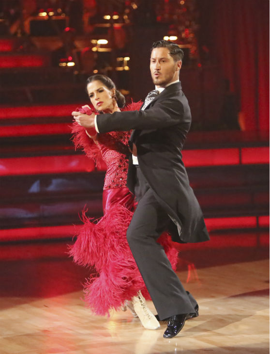 'General Hospital' actress Kelly Monaco and her partner Valentin Chmerkovskiy received 27 out of 30 points from the judges for their Tango on 'Dancing With The Stars: All-Stars,' which aired on October 29, 2012.