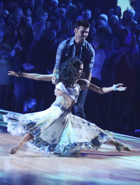 "<div class=""meta image-caption""><div class=""origin-logo origin-image ""><span></span></div><span class=""caption-text"">Reality star Melissa Rycroft and her partner Tony Dovolani received 29.5 out of 30 points from the judges for their Viennese Waltz on 'Dancing With The Stars: All-Stars,' which aired on October 29, 2012. (ABC Photo / Adam Taylor)</span></div>"