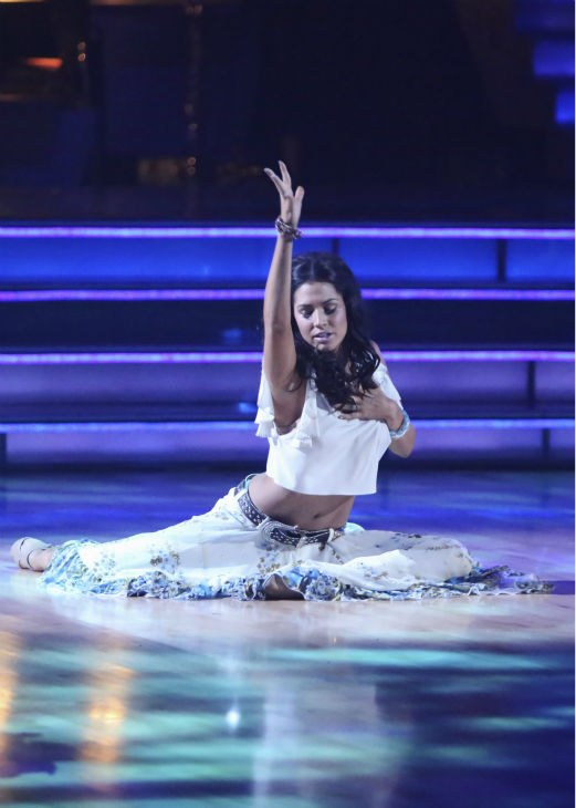 Reality star Melissa Rycroft and her partner Tony Dovolani received 29.5 out of 30 points from the judges for their Viennese Waltz on 'Dancing With The Stars: All-Stars,' which aired on October 29, 2012.