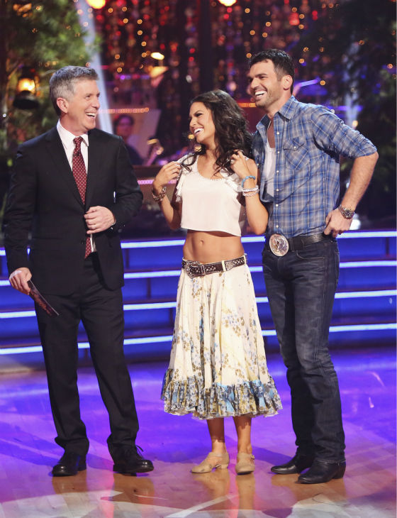 "<div class=""meta ""><span class=""caption-text "">Reality star Melissa Rycroft and her partner Tony Dovolani received 29.5 out of 30 points from the judges for their Viennese Waltz on 'Dancing With The Stars: All-Stars,' which aired on October 29, 2012. (ABC Photo / Adam Taylor)</span></div>"