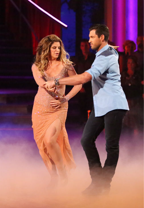 "<div class=""meta image-caption""><div class=""origin-logo origin-image ""><span></span></div><span class=""caption-text"">Kirstie Alley and her partner Maksim Chmerkovskiy received 27.5 out of 30 points from the judges for their Rumba on 'Dancing With The Stars: All-Stars,' which aired on October 29, 2012. (ABC Photo / Adam Taylor)</span></div>"