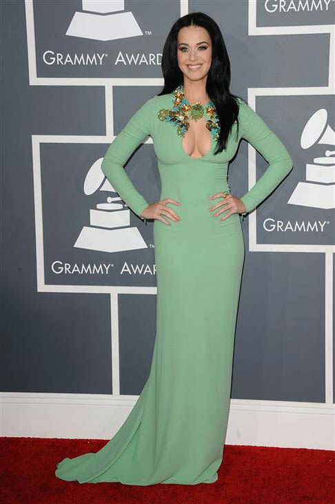 "<div class=""meta ""><span class=""caption-text "">Katy Perry appears at the 55th annual Grammy Awards in Los Angeles, California on Feb. 10, 2013. (Kyle Rover / startraksphoto.com)</span></div>"