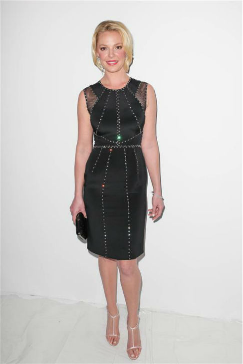 Katherine Heigl appears at the Jenny Packham Fall 2013 fashion show during Mercedes-Benz fashion week in New York on Feb. 12, 2013. <span class=meta>(Andrew Toth &#47; Startraksphoto.com)</span>
