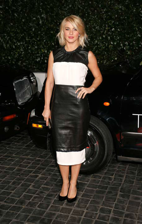 "<div class=""meta ""><span class=""caption-text "">Julianne Hough attends the Topshop Topman LA Opening Party At Cecconi's in Los Angeles, on Wednesday, Feb. 13, 2013 in Los Angeles.  (AP Photo/Todd Williamson)</span></div>"