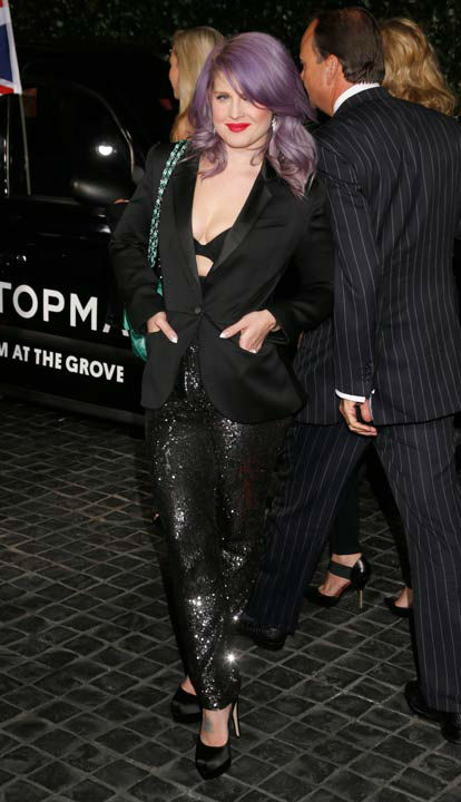 Kelly Osbourne attends the Topshop Topman LA Opening Party At Cecconi's in Los Angeles, on Wednesday, Feb. 13, 2013 in Los Angeles.
