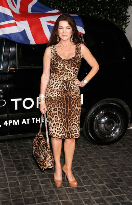 Lisa Vanderpump attends the Topshop Topman LA...