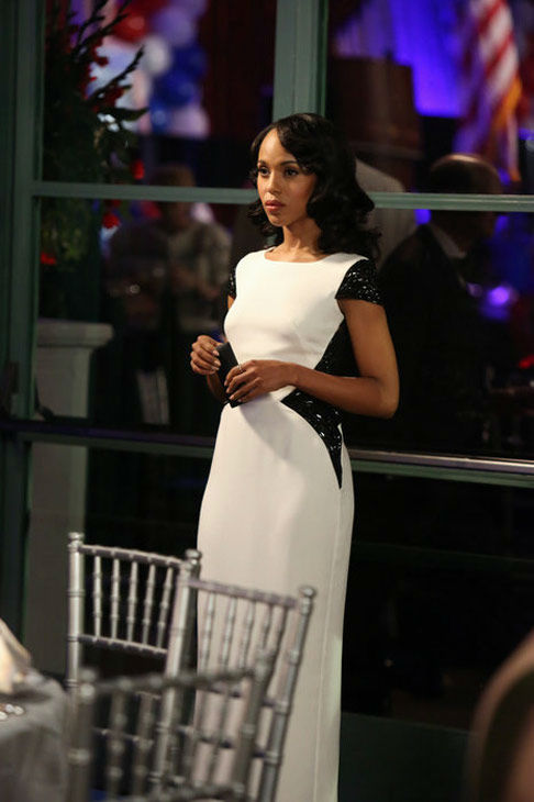 Kerry Washington appears in the &#39;Scandal&#39; season 2 episode &#39;Boom Goes the Dynamite,&#39; which aired on Feb. 21, 2013. <span class=meta>(ABC Danny Feld)</span>