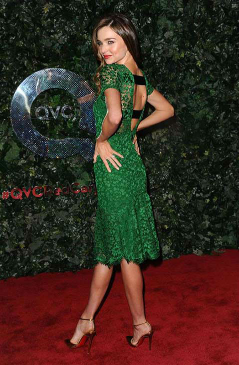 Miranda Kerr appears at the QVC Red Carpet Style Party on Feb. 22, 2013. <span class=meta>(Sara De Boer&#47;startraksphoto.com)</span>