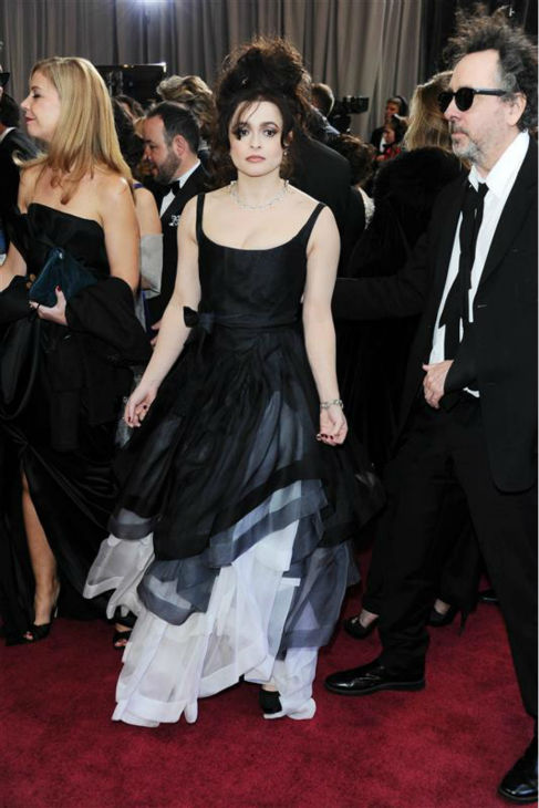 Helena Bonham Carter appears at the 2013 Oscars in Hollywood, California on Feb. 24, 2013. <span class=meta>(Noel Crawford &#47; Startraksphoto.com)</span>