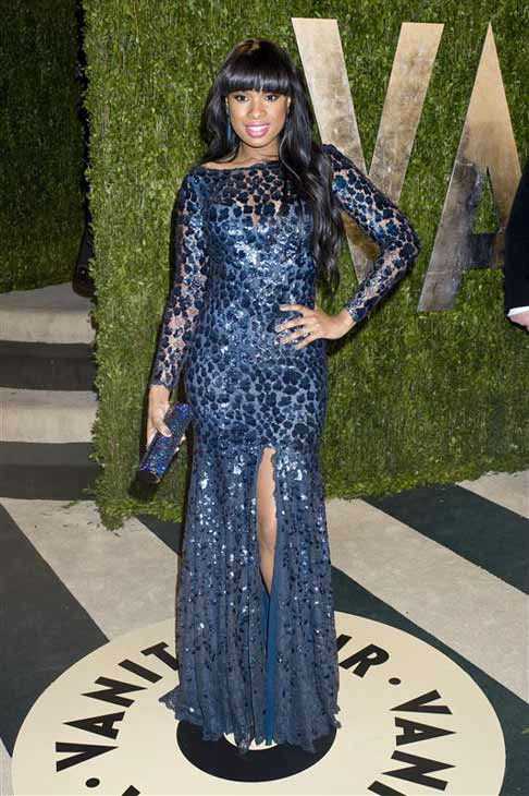 Jennifer Hudson appears at the 2013 Vanity Fair Oscar Party in Los Angeles, California on Feb. 24, 2013.  <span class=meta>(Justin Campbell &#47; startraksphoto.com)</span>