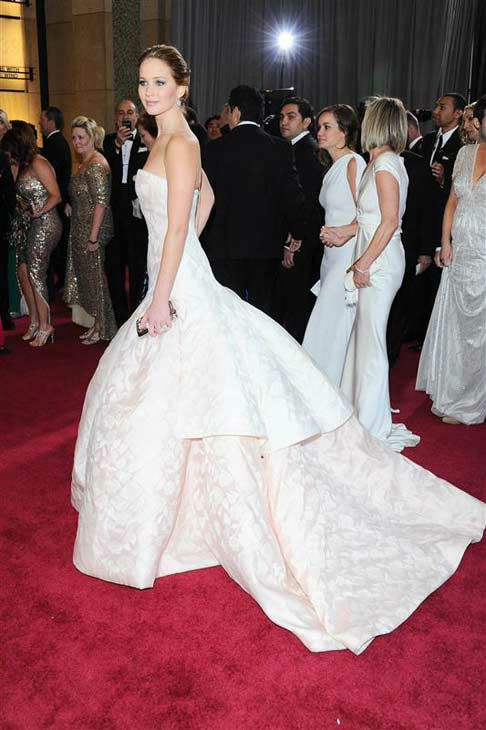 Jennifer Lawrence appears at the 85th annual Academy Awards in Los Angeles, California on Feb. 24, 2013. <span class=meta>(Noel Crawford &#47; startraksphoto.com)</span>