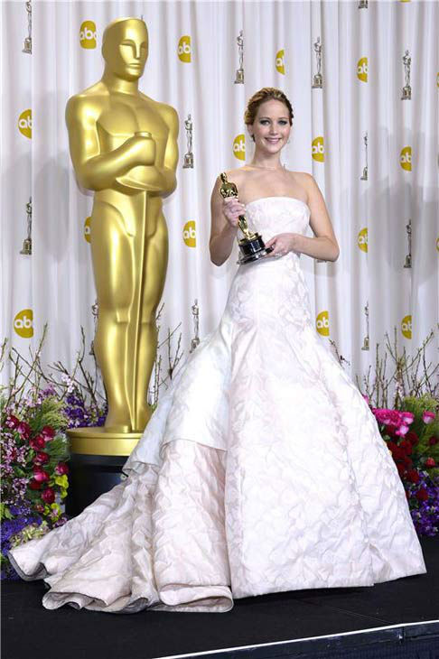 Jennifer Lawrence appears at the 85th Academy Awards on Feb. 24, 2013. <span class=meta>(Future Image&#47;startraksphoto.com)</span>