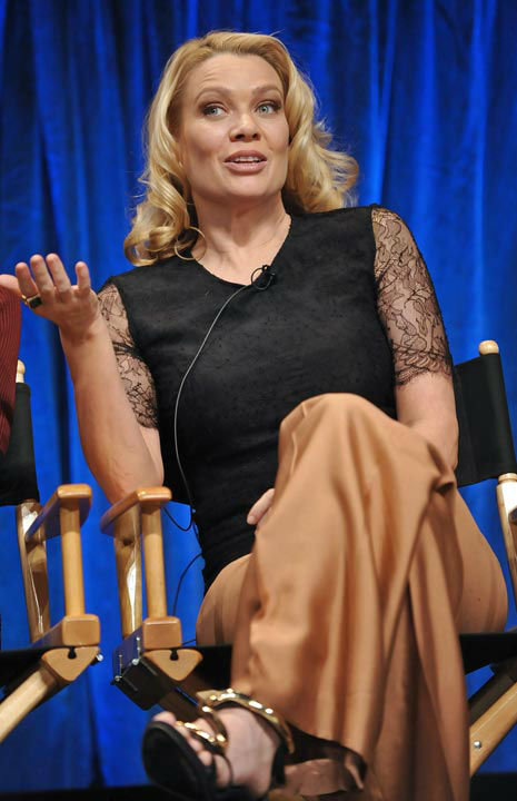 Photo of Laurie Holden courtesy of Samsung Galaxy, during the Paley Center for Media&#39;s PaleyFest, honoring The Walking Dead, at the Saban Theatre, Friday March 1, 2013 in Los Angeles, California. <span class=meta>(Photo&#47;Kevin Parry for PaleyFest Media)</span>