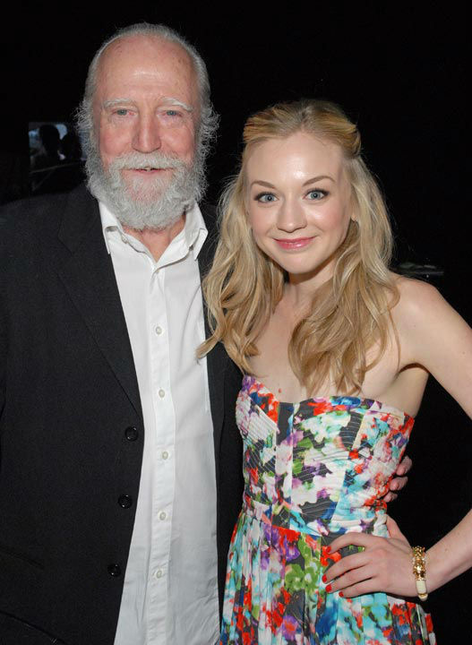 Photo of Emily Kinney and Scott Wilson courtesy of Samsung Galaxy, during the Paley Center for Media&#39;s PaleyFest, honoring The Walking Dead, at the Saban Theatre, Friday March 1, 2013 in Los Angeles, California. <span class=meta>(Photo&#47;Kevin Parry for PaleyFest Media)</span>