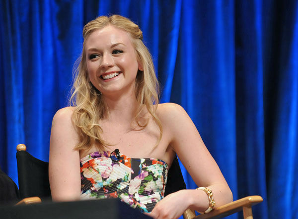 "<div class=""meta ""><span class=""caption-text "">Photo of Emily Kinney courtesy of Samsung Galaxy, during the Paley Center for Media's PaleyFest, honoring The Walking Dead, at the Saban Theatre, Friday March 1, 2013 in Los Angeles, California. (Photo/Kevin Parry for PaleyFest Media)</span></div>"